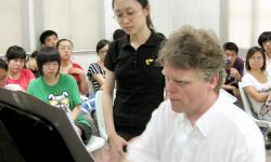 Unterricht an der Internationalen Musikakademie Philharmonika Berlin